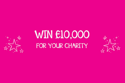 Win £10k for your small charity