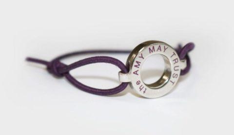 Amy May Trust wristband