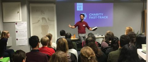 Charity Fast-Track training led by Thomas Muirhead
