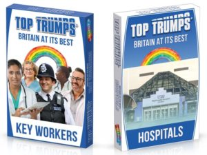 Charity workers celebrated in new Top Trumps pack