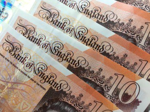 money ten pounds