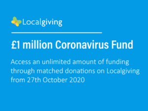 Localgiving announces £1m coronavirus fund