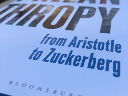 Book review – Philanthropy: From Aristotle To Zuckerberg