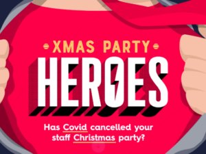 Campaign urges businesses to be #XmasPartyHeroes & donate unused budget to charity