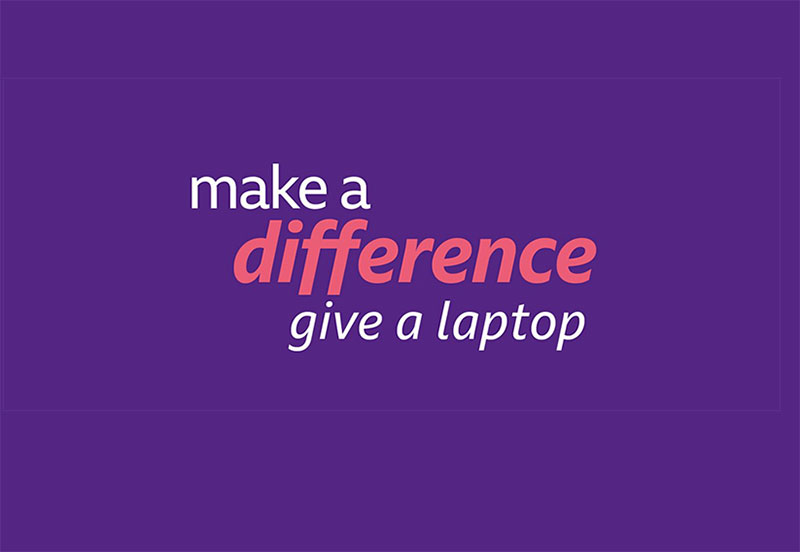 BBC's Make a Difference - give a laptop campaign