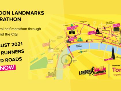 Tommy's moves London Landmarks Half Marathon to August